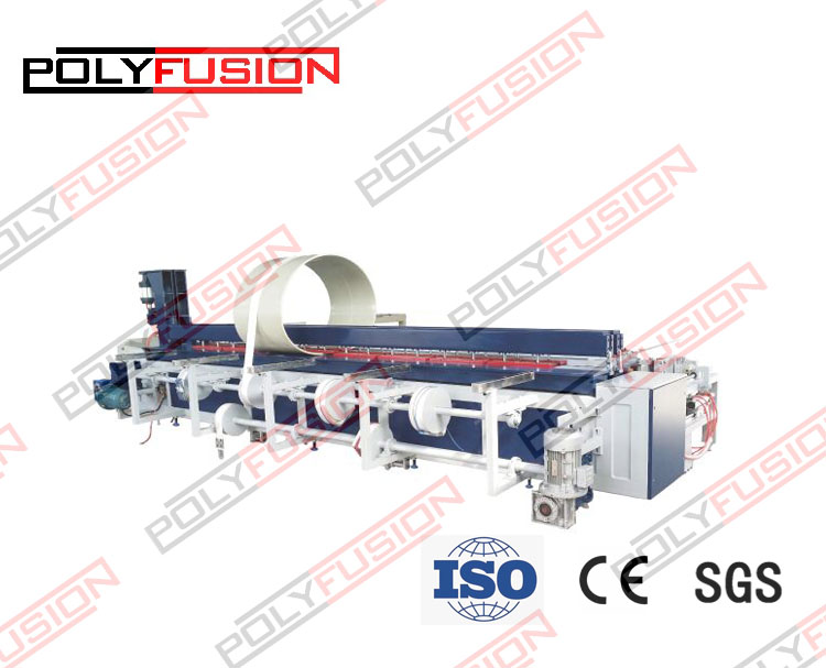 DZA2000-4000 CNC Automatic Plastic Sheet Welding/Rolling and Bending Machine